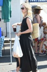 CANDICE ACCOLA Shopping at Farmers Market in Los Angeles 07/23/2017
