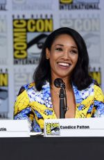 CANDICE PATTON at The Flash Panel at Comic-con in San Diego 07/22/2017