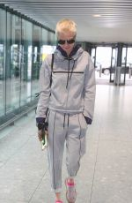 CARA DELEVINGNE at Heathrow Airport in London 07/15/2017