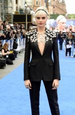CARA DELEVINGNE at Valerian and the City of a Thousand Planets Premiere in London 07/24/2017