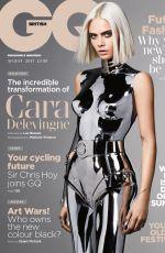 CARA DELEVINGNE in GQ Magazine, UK Augurst 2017