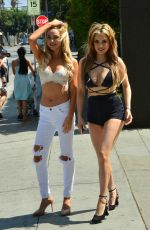 CARLA HOWE and SHERRA Out and About in Hollywood 06/30/2017