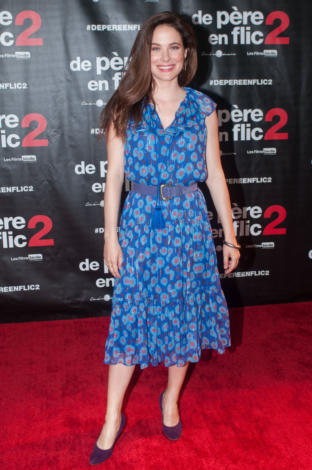 CAROLINE DHAVERNAS at Fathers and Guns 2 Premiere 07/10/2017