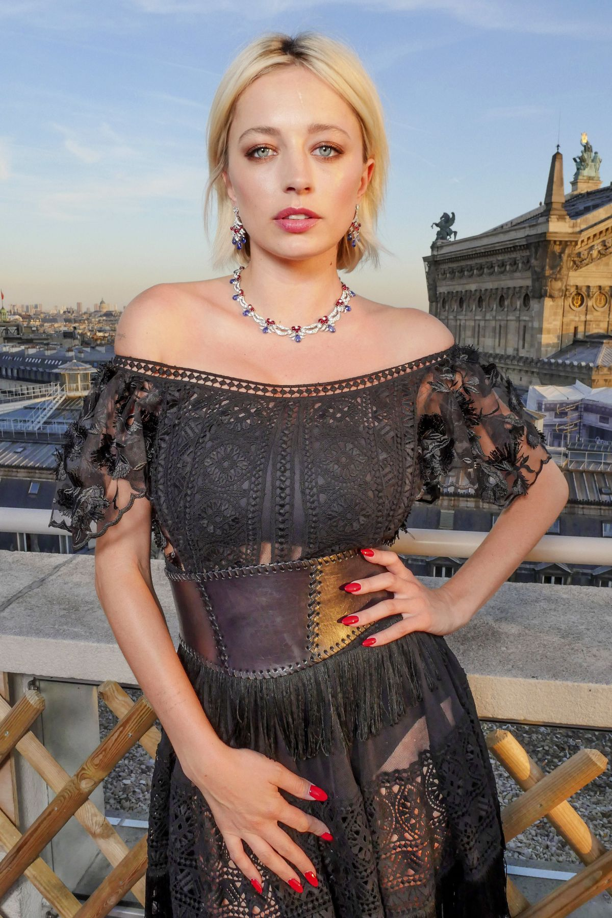 CAROLINE VREELAND at Bvlgari Pop Up Store Launch at Haute Couture Paris Fashion Week 07/04/2017