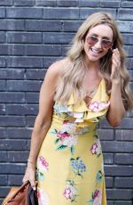 CATHERINE TYLDESLEY Leaves ITV Studios in London 07/07/2017