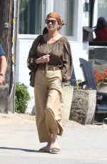 CATHERINE ZETA JONES Out for Lunch in Malibu 07/09/2017