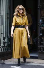 CELINE DION Leaves Her Hotel in Paris 07/03/2017