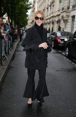 CELINE DION Leaves Royal Monceau Hotel in Paris 07/01/2017