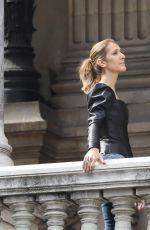 CELINE DIONon the Set of a Photoshoot in Paris 07/10/2017