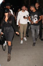 CHANTEL JEFFRIES and Wilmer Valderrama at Tao in Hollywood 07/15/2017