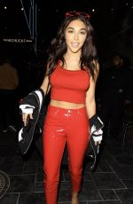 CHANTEL JEFFRIES Arrives at Dream Hollywood Hotel 07/11/2017