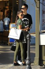 CHANTEL JEFFRIES Out and About in Los Angeles 07/05/2017