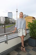 CHARLIZE THERON at Atomic Blonde Photocall at Soho House in Berlin 07/16/2017