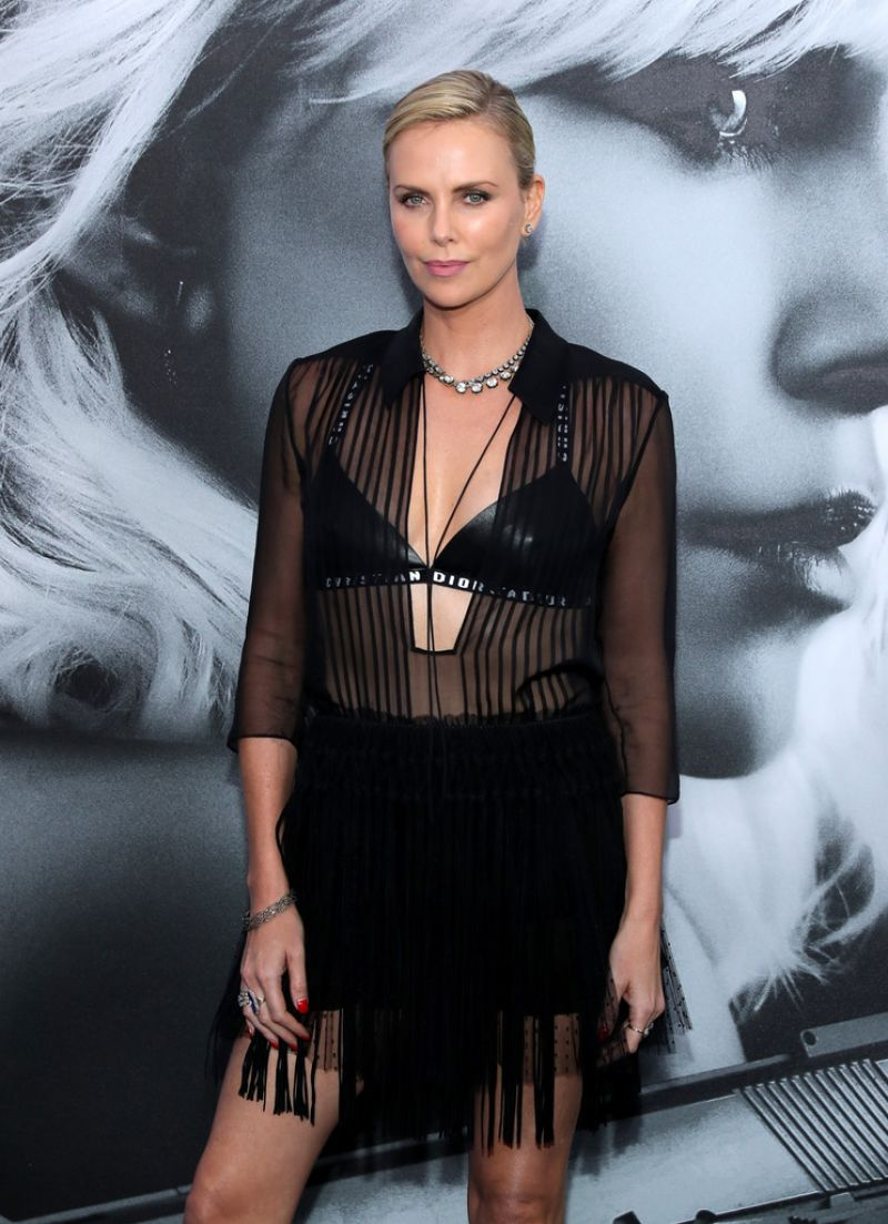 Charlize theron atomic blonde premiere in los angeles - 2019 year