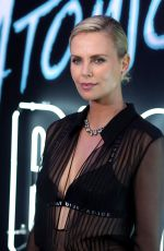 CHARLIZE THERON at Atomic Blonde Premiere in Los Angeles 07/24/2017