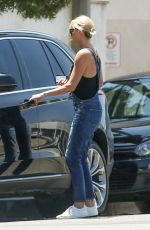 CHARLIZE THERON Out in West Hollywood 07/03/2017