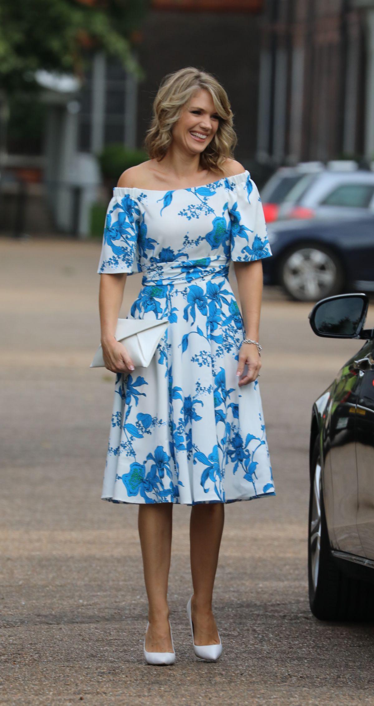 CHARLOTTE HAWKINS at ITV Summer Reception in London 07/20/2017