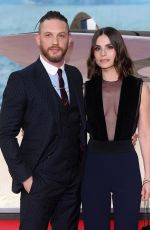 CHARLOTTE RILEY at Dunkirk Premiere in London 07/13/2017