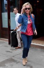 CHELSEA HANDLER Leaves Her Hotel in New York 07/07/2017