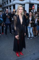 CHIARA FERRAGNI at Fendi Fashion Show at Haute Couture Paris Fashion Week 07/05/2017