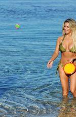 CHLOE GOODMAN and BIANCA GASCOIGNE in Bikini at a Beach in Cyprus 07/10/2017