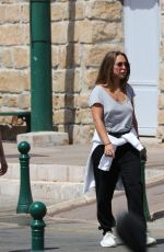 CHLOE GREEN Out and About in Saint Tropez 07/08/2017