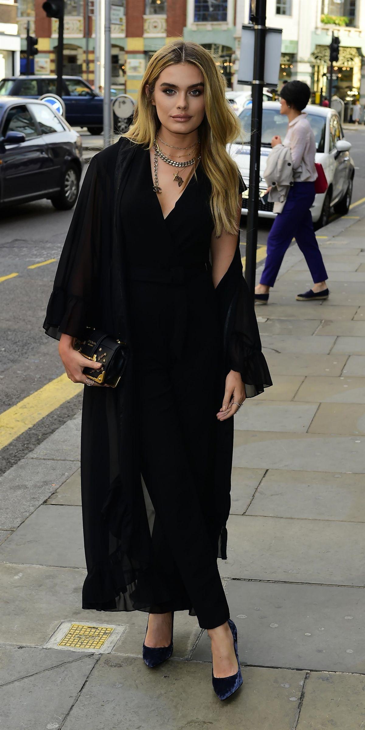 CHLOE LLOYD at Lipsey London Party in London 07/19/2017