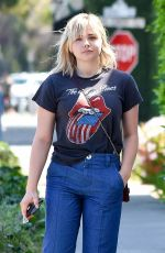 CHLOE MORETZ Out and About in Beverly Hills 07/07/2017