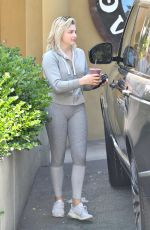 CHLOE MORETZ Out and About in Beverly Hills 07/25/2017