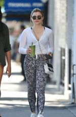CHLOE MORETZ Out in Los Angeles 07/29/2017