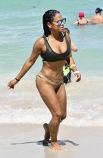 CHRISTINA MILIAN in Bikini at a Beach in Miami 07/01/2017