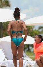 CHRISTINA MILIAN in Bikini at a Beach in Miami 07/20/2017