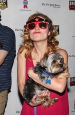 CHRISTY ALTOMARE at 19th Annual Broadway Barks Animal Adoption Event in New York 07/08/2017