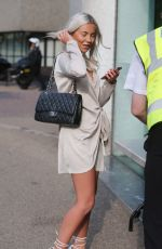 CHYNA ELLIS Leaves ITV Studios in London 07/06/2017