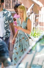 CLAIRE DANES on the Set of A Kid Like Jake in Brooklyn 07/09/2017