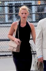 CLAIRE DANES Out and About in New York 07/10/2017