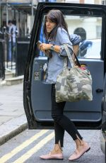 CLAUDA WINKLEMAN Arrives at Her Home in London 07/20/2017