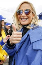 CLAUDIA LEITTE at The Stock Car in Curitiba, Brazil 07/02/2017