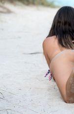 CLAUDIA ROMANI in Bikini on the Beach in Miami 07/02/2017