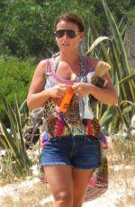 COLEEN ROONEY in Bikini at a Beach in Portugal 07/18/2017