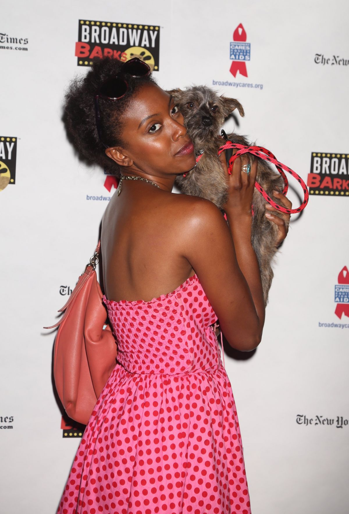 CONDOLA RASHAD at 19th Annual Broadway Barks Animal Adoption Event in New York 07/08/2017