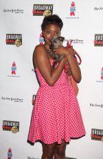 CONDOLA RASHAD at 19th Annual Broadway Barks Animal Adoption Event in New York 07/08/2017