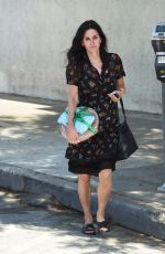 COURTENEY COX Out in West Hollywood 07/07/2017