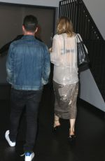 COURTNEY LOVE at Catch LA in West Hollywood 07/05/2017