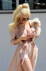 COURTNEY STODDEN Out in Los Angeles 06/30/2017