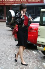 DAISY LOWE Out and About in London 07/19/2017