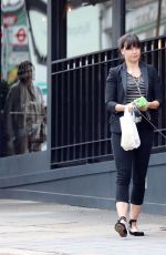 DAISY LOWE Out with Her Dog in London 07/03/2017
