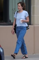 DAKOTA JOHNSON Out and About in Savannah 07/16/2917