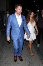 DANICA PATRICK at Catch LA Restaurant in West Hollywood 07/12/2017