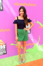 DANIELLA MONET at Nickelodeon Kids' Choice Sports Awards in Los Angeles 07/13/2017